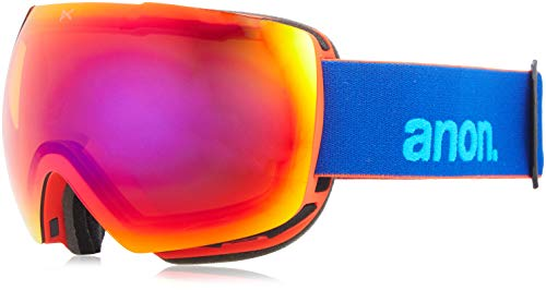 Anon Herren MIG Snowboardbrille, Blue/Sonar Infrare