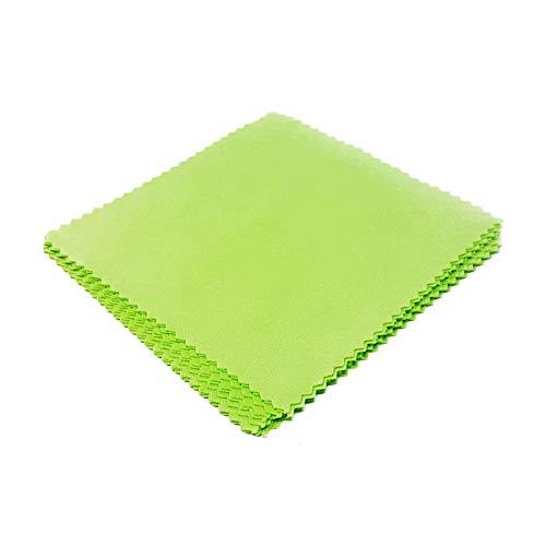 WS UK Mikrofaser-Reinigungstuch, 10 x 10 cm Gr. onesize, grün