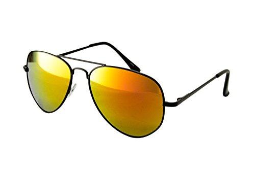 NEW WAYFARER occhiali da sole Vintage Classico da Uomo da Donna Aviator UV400 multicolore Black Mirror Avitaot
