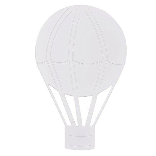 Bainba Aplique de Pared Globo E27, Blanco, 30 x 48 cm