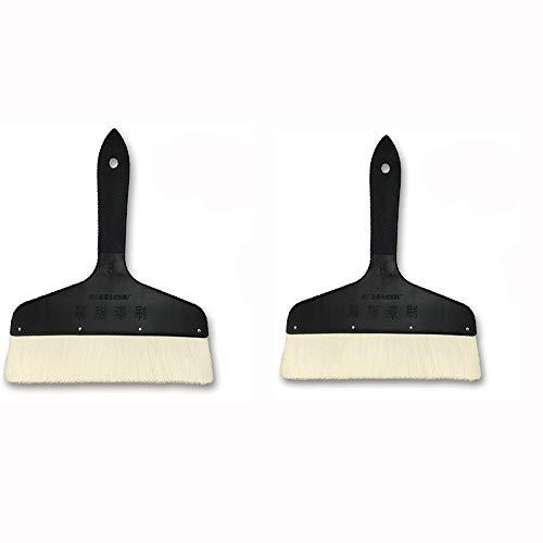 Scobest-Pinsel 8-Zoll-Pinselpinsel-Wollbürsten-Werkzeugbürste (Design : Zwei Packungen)