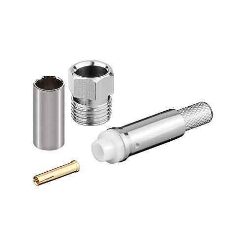Goobay 11792 FME-Buchse Crimp für RG 58/U - mit Gold-Pin