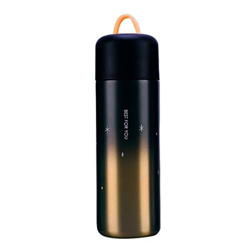Flushzing 350ml / 450ml Gradient Kaffeetassen Flaschen-Spielraum Thermocup Seal Edelstahl Wasser Insulated Vacuum Cup
