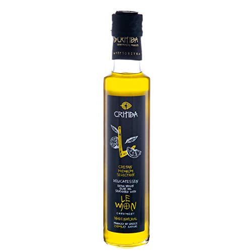 Lemon Infused Olive Oil 250ml by Critida