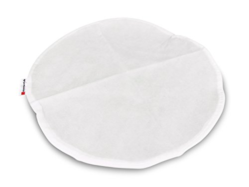 Kissenbezug Ø 70 cm rund VLIES, Kissenhülle mit Reißverschluss