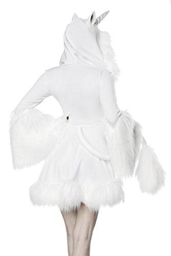 fasching kostueme damen maerchen Sexy Glamour Last Unicorn Kostüm Einhorn Einhornkostüm Märchen Karneval Fasching Damen Legende Sage Tier Pferd Fohlen 2XL