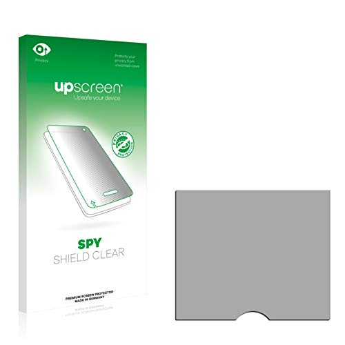 upscreen Anti-Spy Blickschutzfolie kompatibel mit Rim BlackBerry Curve 8330 Privacy Screen Displayschutzfolie - Sichtschutz, Kratzfest 8330 Rim