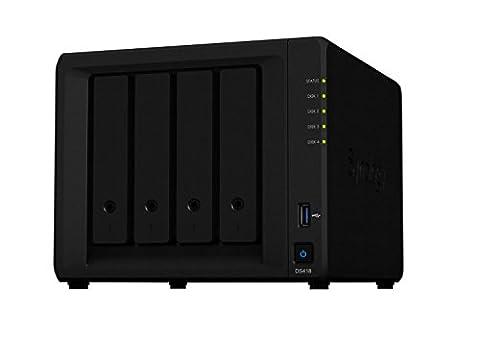 Synology DS418/8TB-RED 4 Bay Desktop NAS Einheit, 8TB