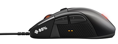 SteelSeries Rival 700 Optische Gaming-Maus (7 Tasten, OLED-Display, Haptisches Feedback) schwarz - 3