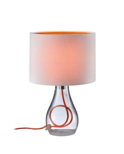 trio-leuchten-lampe-de-table-avec-pied-en-verre-clair-cable-abat-jour-en-tissu-blanc-interieur-orang