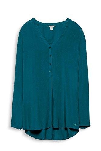 ESPRIT, Camicia Donna Verde (Dark Teal Green 375)