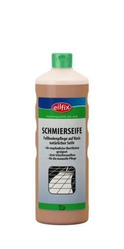 eilfix Schmierseife Flüssig, 1.000 ml - Fußbodenpflege auf Basis natürlicher Seife - 1 Flasche
