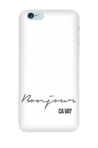 iPhone 4/4S Coque photo - Bonjour