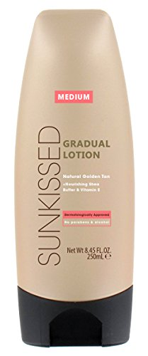 Sunkissed Gradual Tan Lotion, Medium Bronze 250 ml