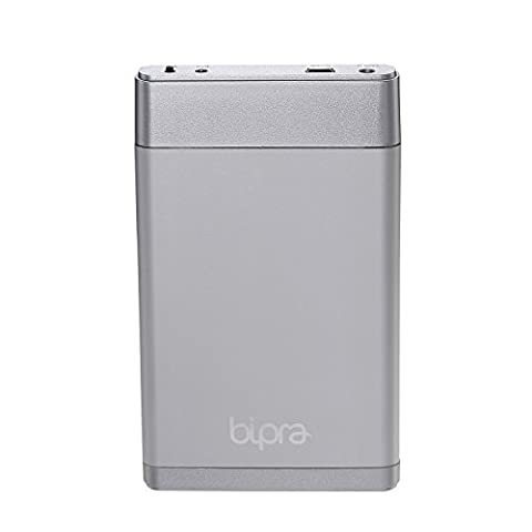 Bipra 250GB 2.5 inch USB 2.0 NTFS Pocket Size External Hard Drive - Silver