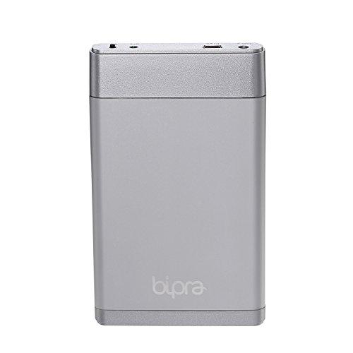 """Bipra - Hard-Disk esterno FAT32, 100GB, 6,3cm (2,5""""), USB 2.0, colore: Argento 160 Gb"""