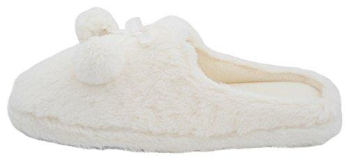 SlumberzzZ, Pantofole donna Ivory