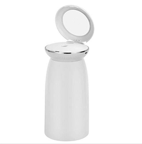 JIAXIA 350 ml USB Tragbare Ultra-leise Conch Luftbefeuchter Kreative Sprayer Mit Kosmetikspiegel Wassernebel Diffusor Für Car HomeWeiß -