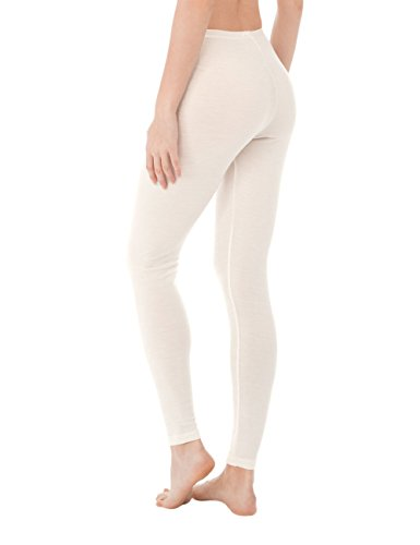 Calida Damen Thermounterwäsche-Unterteil True Confidence Leggings Weiß (Cream White 892)