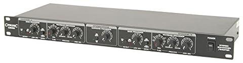 Citronic CE22 Multi-Band-Sound-Prozessor Bass-Effektgerät (Surround Prozessor, variabler Prozess zwischen Enhancer