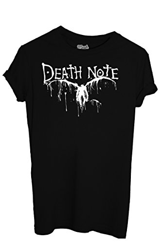 T-Shirt DEATH NOTE - CARTOON by Mush Dress Your Style - Donna-L-Nera