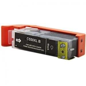 Cartouche d'encre Compatible pour imprimante Canon Pixma ip7200 séries - Pixma IP 7200 Séries - Noir Pigmentée Haute Capacité avec puce