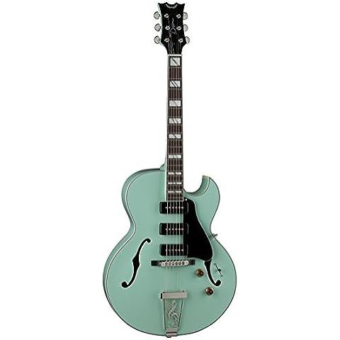 Dean Guitars Dean PAL SG Palomino cuerpo del hueco de la guitarra eléctrica - Mar Verde