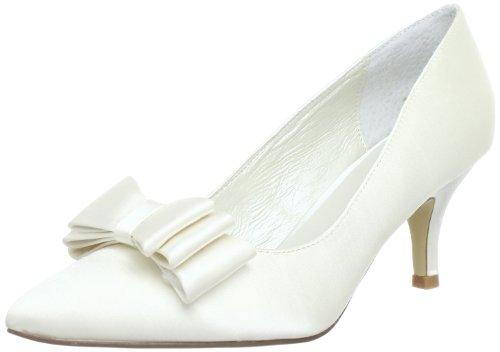 Menbur Wedding Zoe 5071, Damen Klassische Pumps, Elfenbein (Ivory 04), EU 39