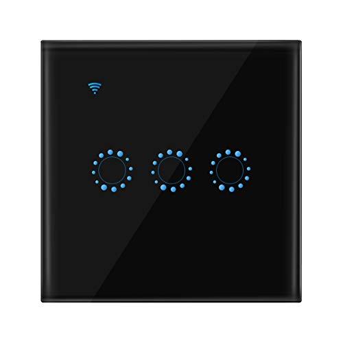 OurLeeme Interruptor de luz de Pared táctil Wi-Fi