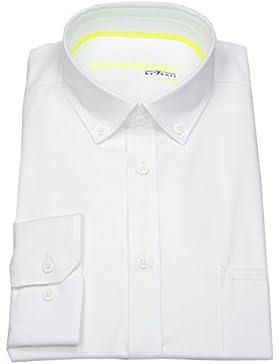 Venti Herren Hemd Slim Fit Button Down Stretch weiß 172824900 000