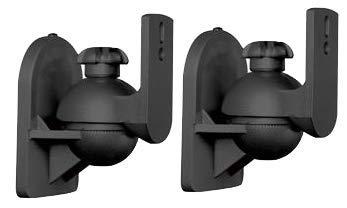 ZIPP 1Box Swivel and Tilt Satellite Speaker Wall Mount -2 Pcs