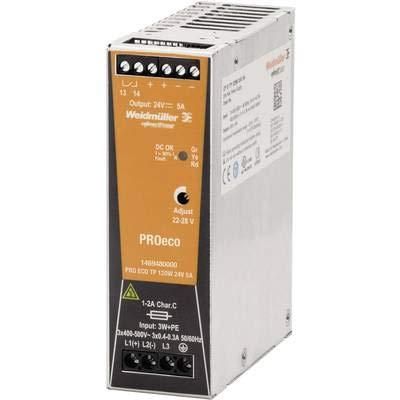 WEIDMULLER 1469480000 – Alimentation Électrique Pro ECO 120 W 24 V 5 a