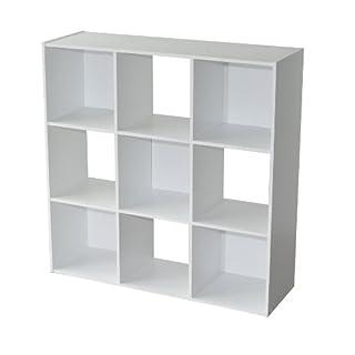 Alsapan Regal, Holz, Weiß, 92x 30x 92cm