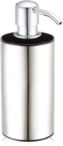 Wenko 21693100 Edelstahl Seifenspender Detroit, rostfrei, 8,7 x 16,3 x 6,3 cm, satiniert