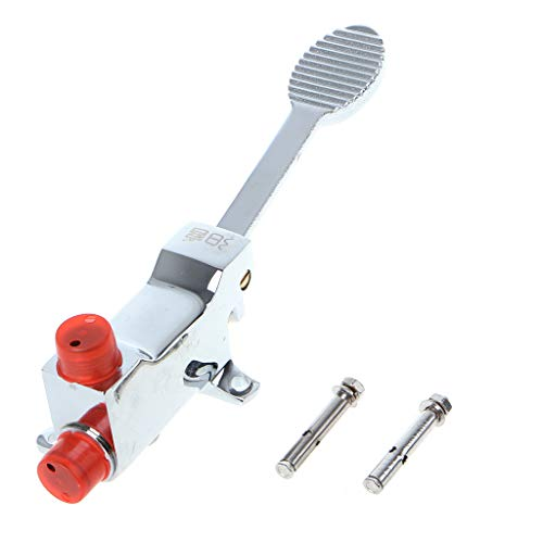 MM456 Wasserhahn, aus Kupfer, Bodenmontage, Pedal, Krankenhaus, Medizinisches Labor, Fußschalter (Hydraulische Pedale)