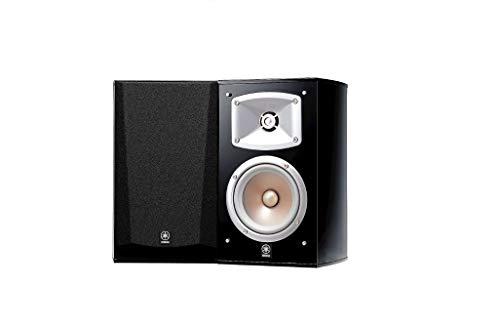 Yamaha NS 333 Regal Lautsprecher System im Paar (2-Wege Bassreflex, akustische Aufhängung, 60W) schwarz