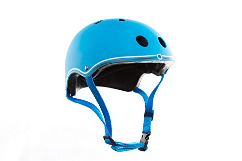 Globber Casco junior, color azul cielo (500-101)