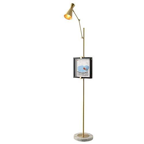 LXJYMX Standard Stehleuchte Stehlampe Nacht Malerei Dekoration einfache kreative Mode Marmor Stehlampe -