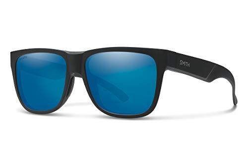 Smith Optics Unisex-Erwachsene Lowdown 2 Sonnenbrille, Mehrfarbig (Mtt Black), 55 (Sonnenbrille Für Damen Von Smith Optics)