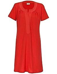 adonia mode Jersey Sommerkleid Shirtkleid Strandkleid Kurzarm , Gr.48 - 58 verschiedene Farben erhältlich