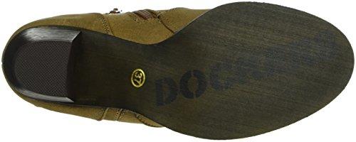 Dockers by Gerli Damen 27ld238-630470 Cowboy Stiefel Braun (Cognac 470)