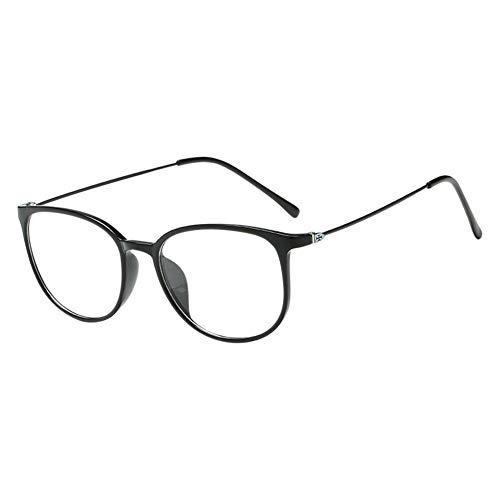 Moberlin Klassische Nerdbrille,Modische Leicht Rahmen Brillenfassung Klare Linse Vintage Brille für...