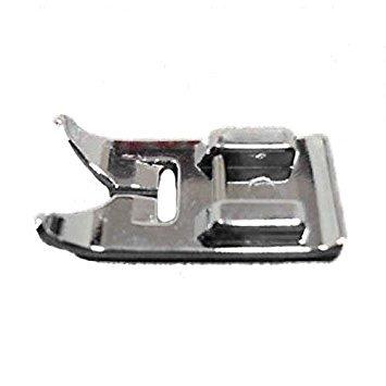 Inlaendische Naehmaschinen Naehfuss Fuss - TOOGOO(R)Portable multifunktionale geraden Stich Fuss Snap On Naehfuss fuer inlaendische Naehmaschinen Silber (Fuß Portable Fuß Nähmaschine)