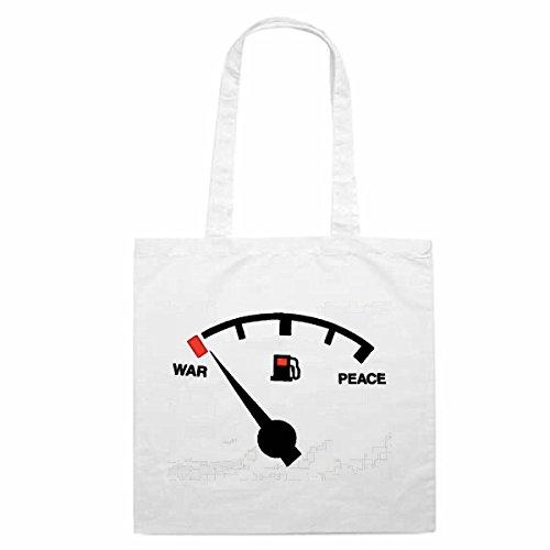 Tasche Umhängetasche Motiv Nr. 1704 Tankanzeige Benzin Diesel Treibstoff ein muss auf jeder Party Einkaufstasche Schulbe