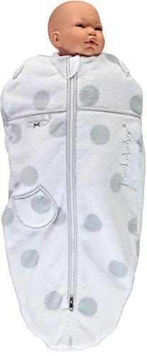 Puckababy® MINI - Winter Pucksack Baby mit Innenweste - 3/6 M   Teddy   Pucksäcke   Swaddle