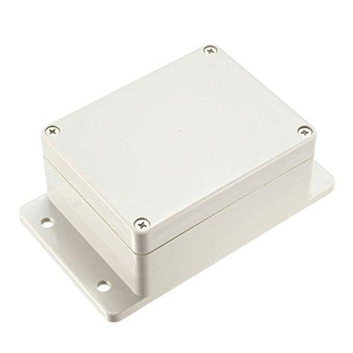 ZCHXD 115x90x55mm Electronic Waterproof IP65 Sealed ABS Plastic DIY Junction Box Enclosure Case Gray -