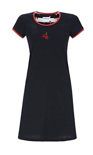 Ringella Damen Nachthemd mit Kurzarm Dark Navy 42 9211001, Dark Navy, 42