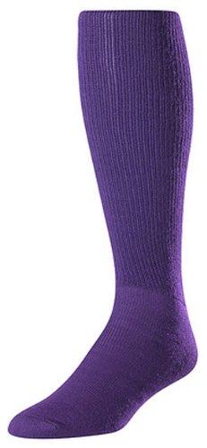 Acryl Multi-sport-socken (Twin City Multi-Sport Tube Socken, Damen Herren, violett, Large)