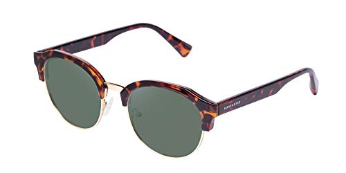 HAWKERS · CLASSIC ROUNDED · Carey · Green Bottle  · Gafas de sol para hombre y mujer