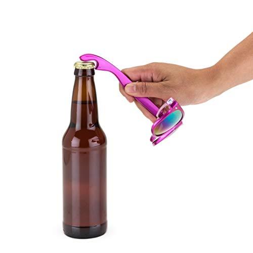 Blush True Fabrication Sunnies Sonnenbrille mit Flaschenöffner, Pink